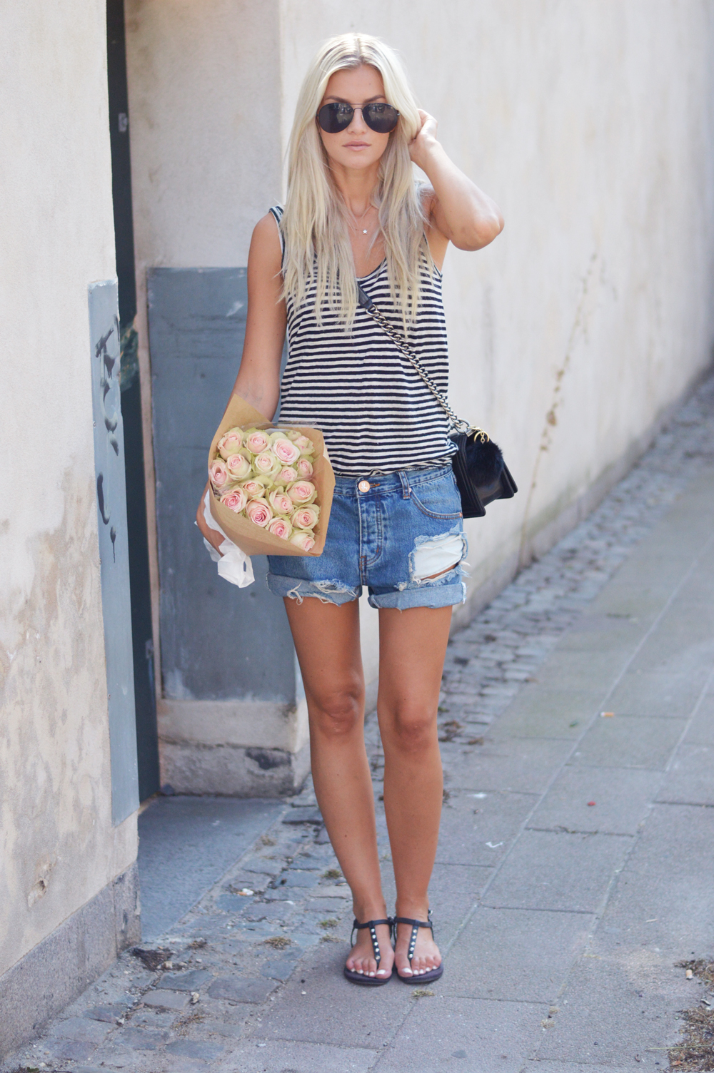 stockholm-fashonweek-outfit-denim-blue-striped-chanel